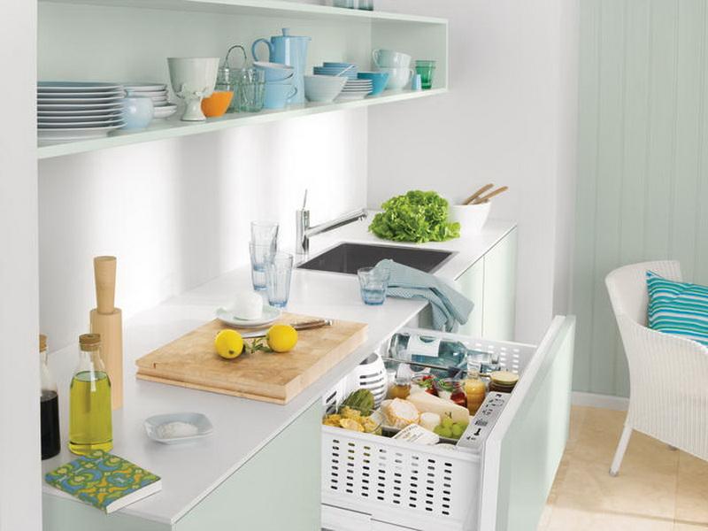 Интересный вариант для мини холодильника