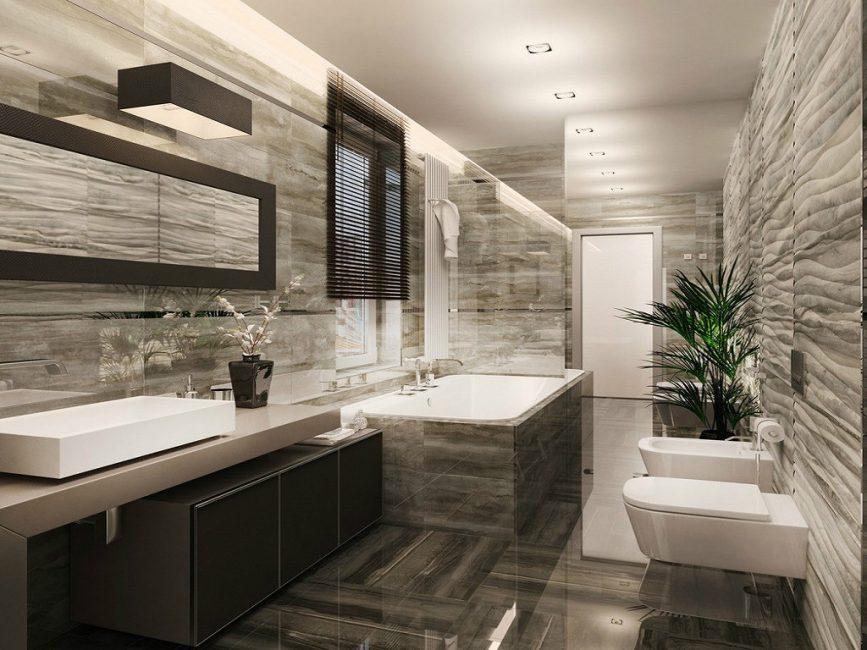 Ванная комната, как и любая другая требует правильного освещения