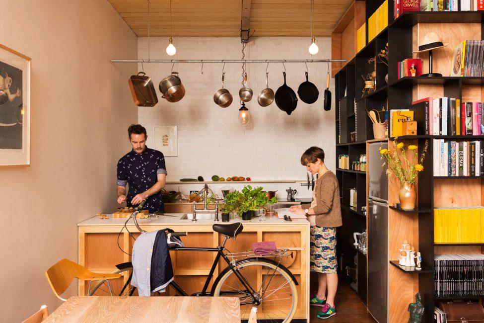 Велосипед может стать элементом внутренней отделки