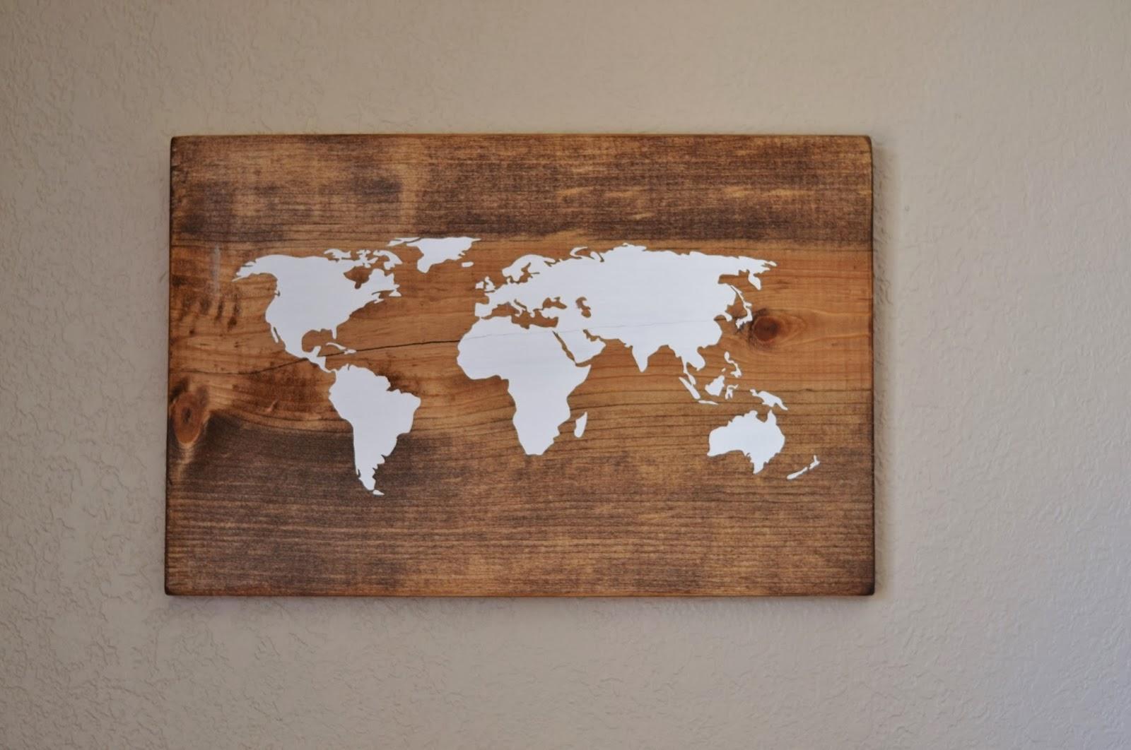 Рамка для карты мира своими руками 96