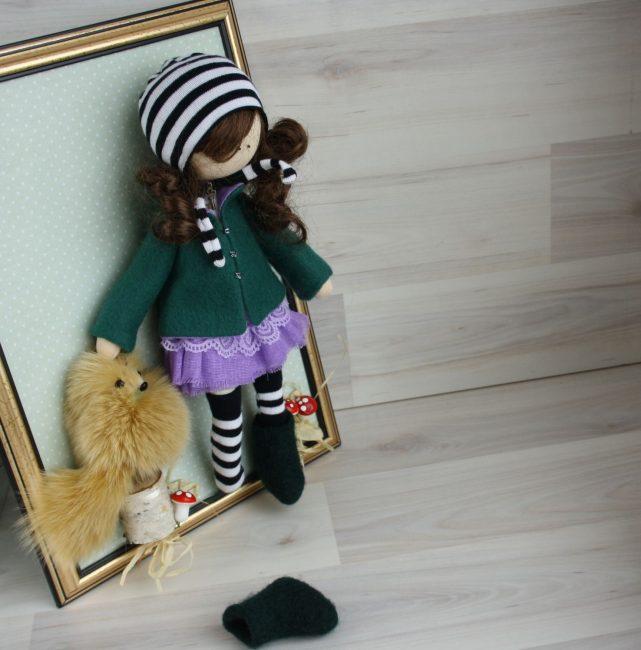 Использоваться может готовая кукла или изготовленная самостоятельно