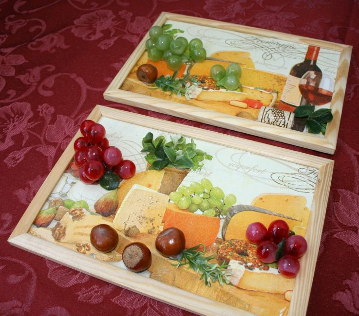 Используйте продукты питания в целях декорации