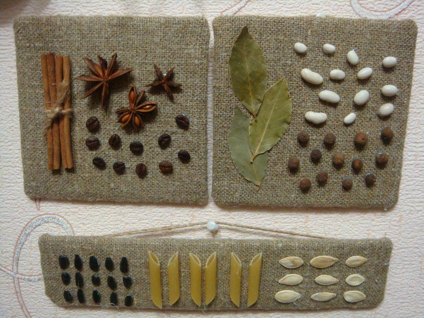 Кофейные зерна - универсальный материал