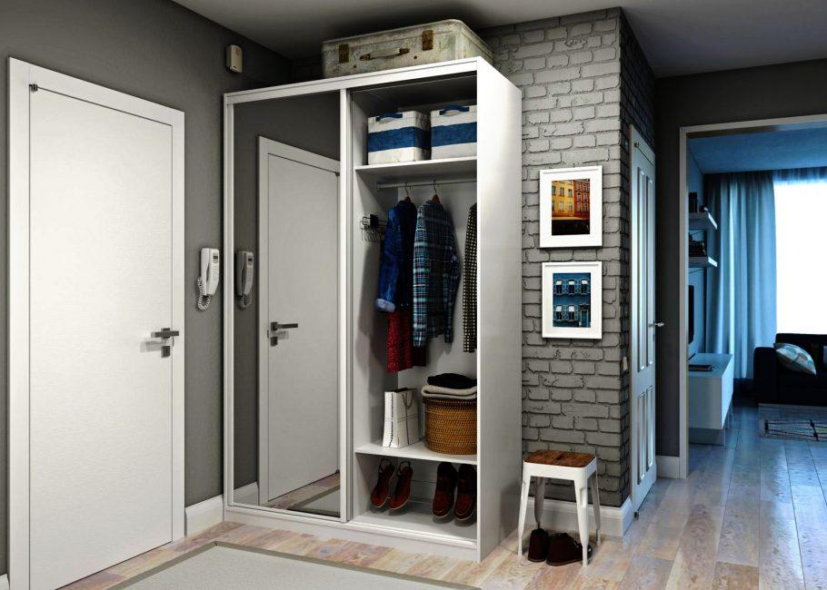Комбинация функционального хранения и стильной внешности