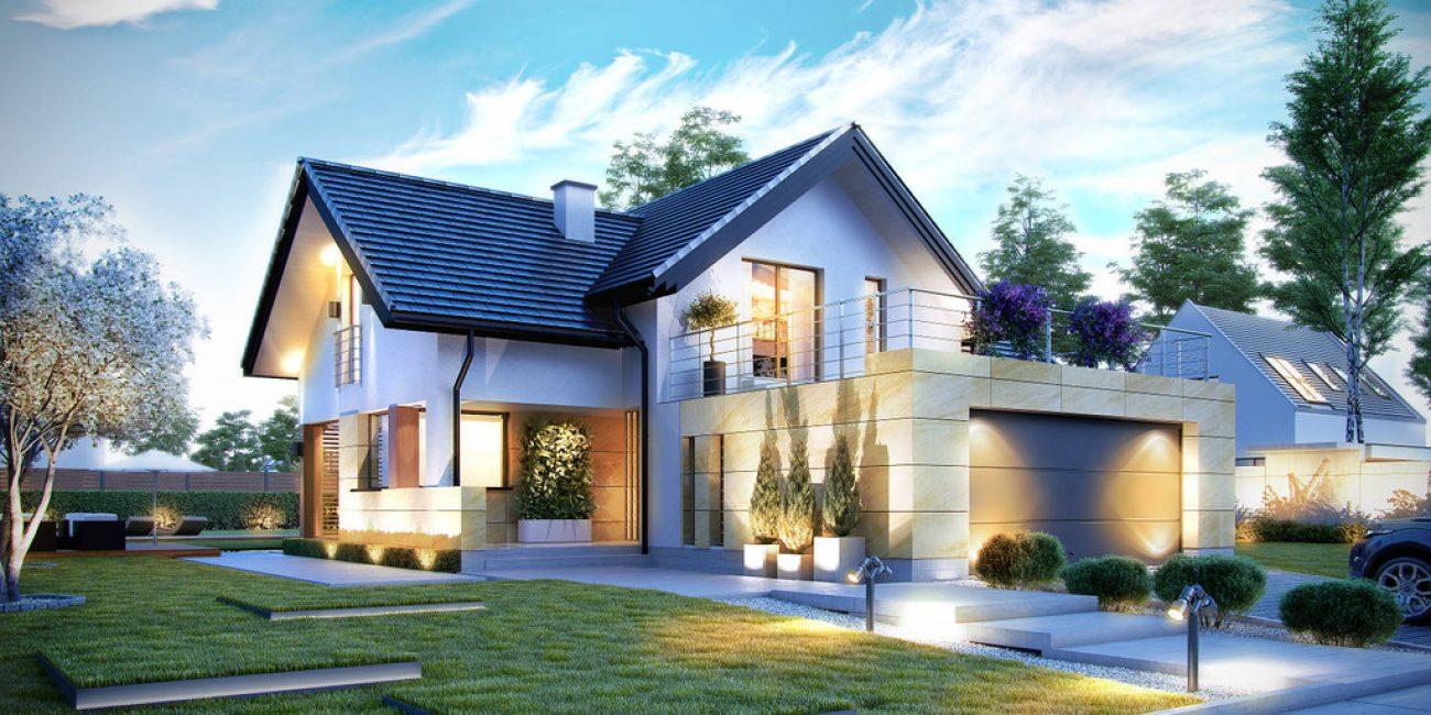 Невероятный дом из пеноблока