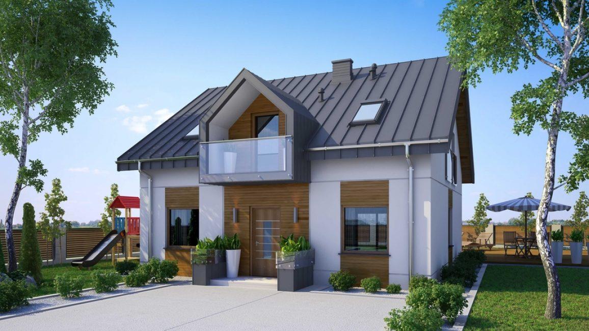 При наличии финансов и небольшого участка земли, лучше строить двухэтажное строение