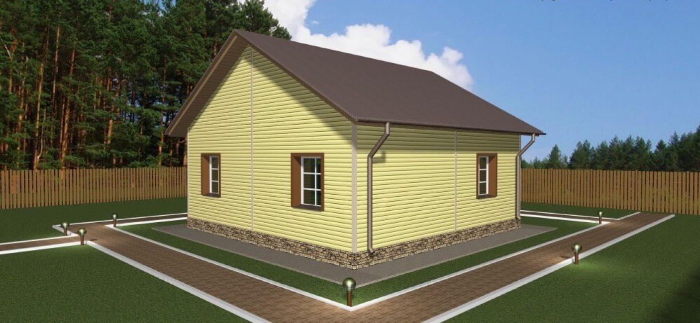 Строительство требует покупки участка относительно большой площади