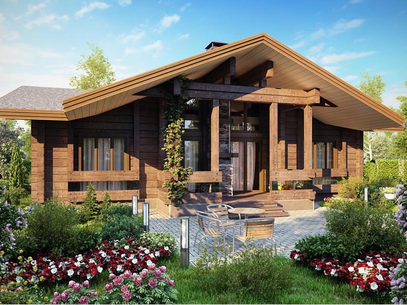Деревянные здания подходят для круглогодичного проживания