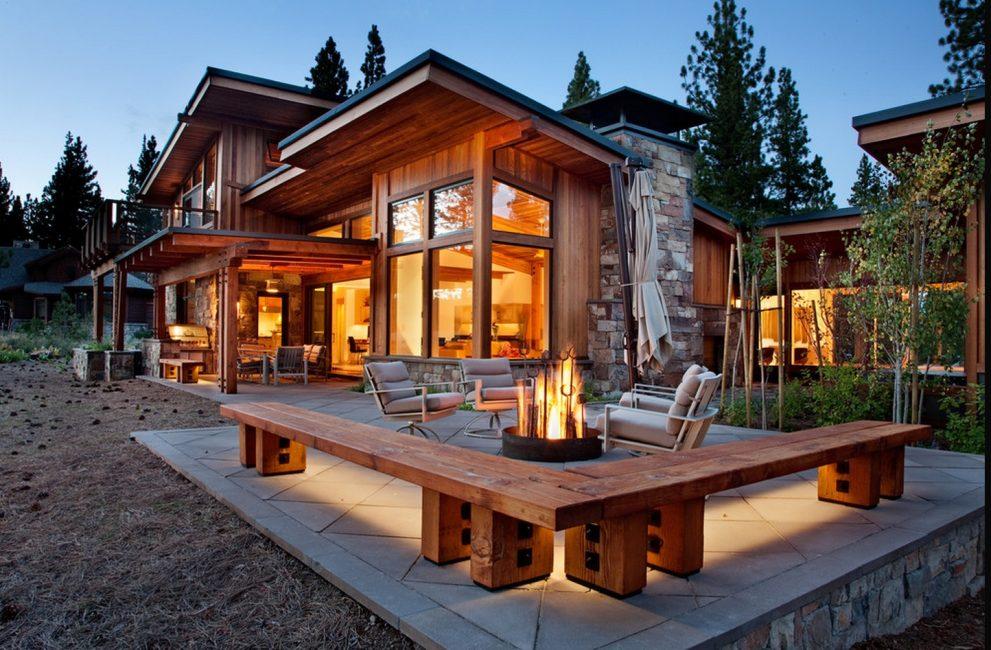 Финский, стильный домик