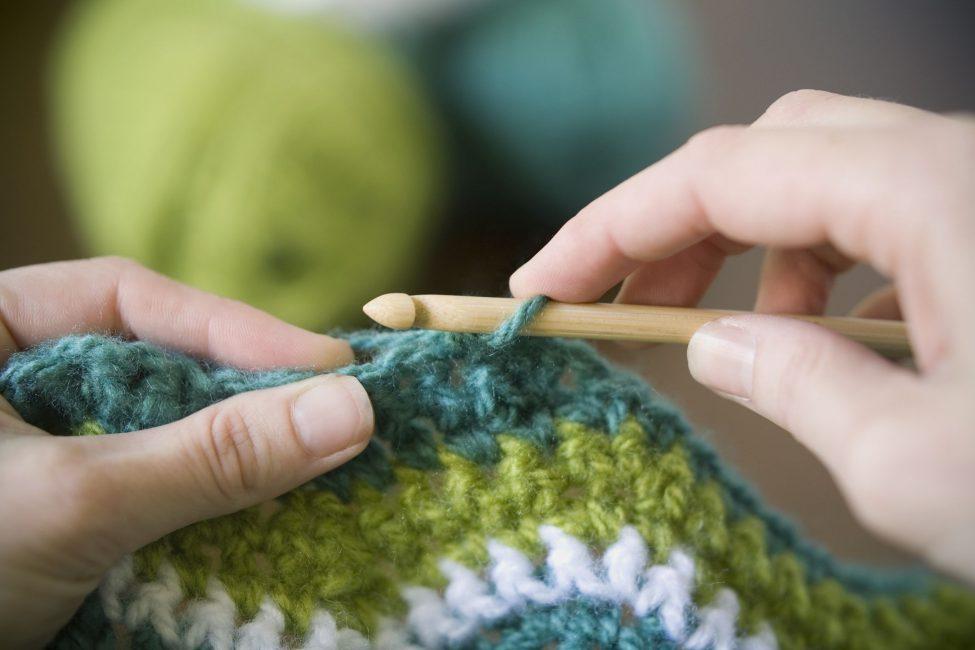 Вязание крючком - кропотливая работа