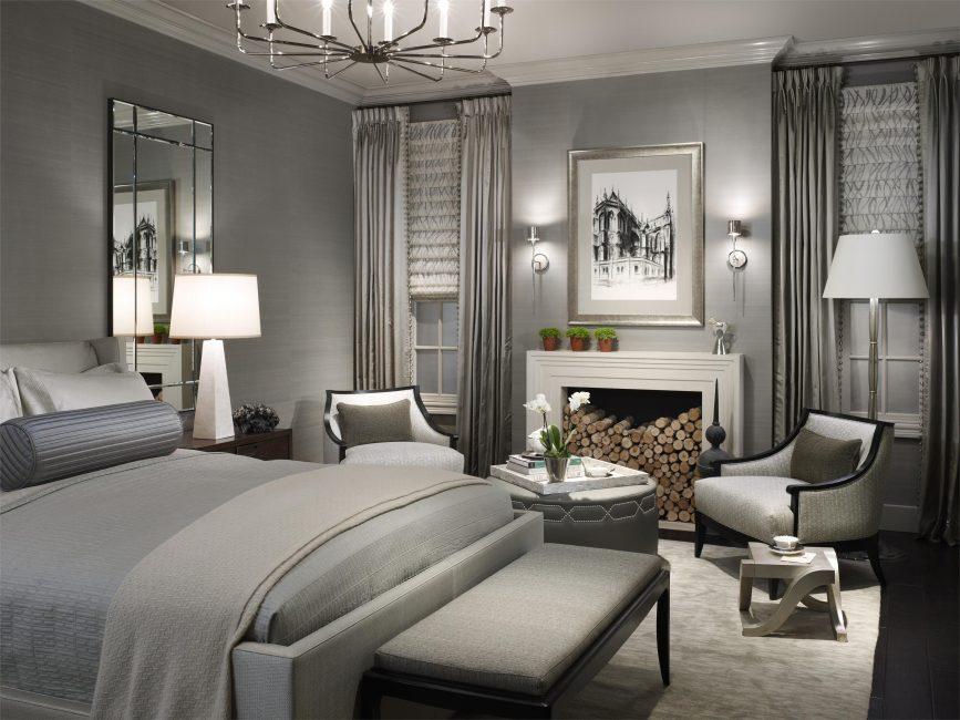 В комнатах отдыха дарит атмосферу покоя