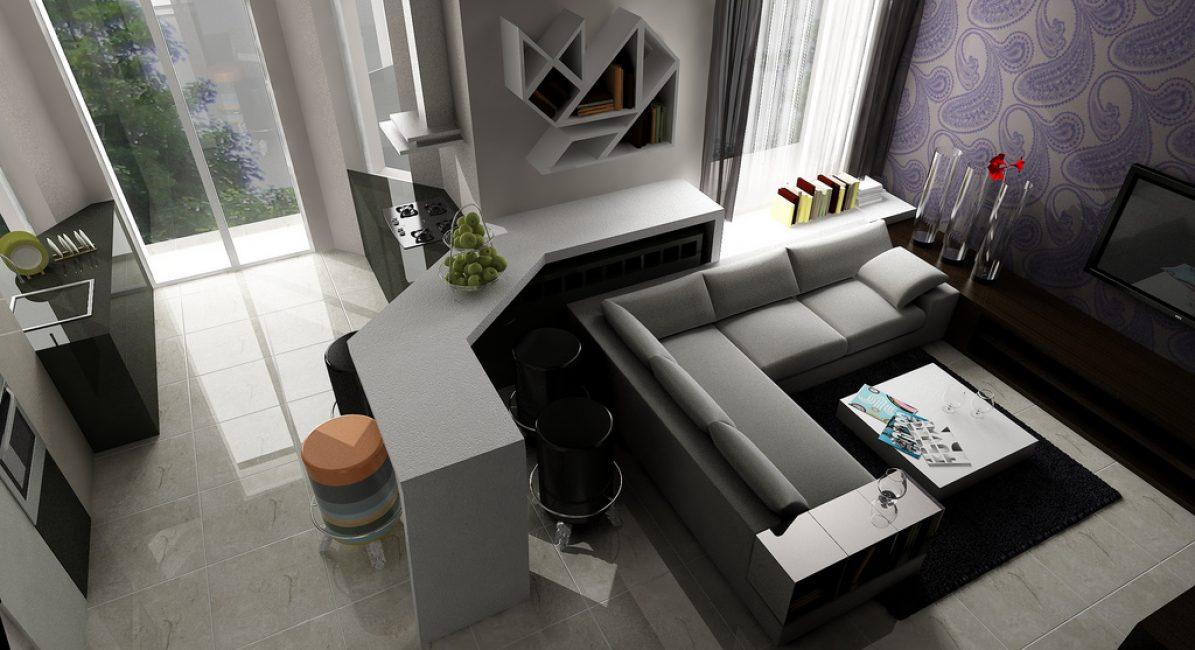 Угловая мебель произвела настоящий фурор в сфере дизайна помещений