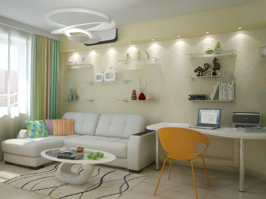 Угловые конструкции экономят место в квартире