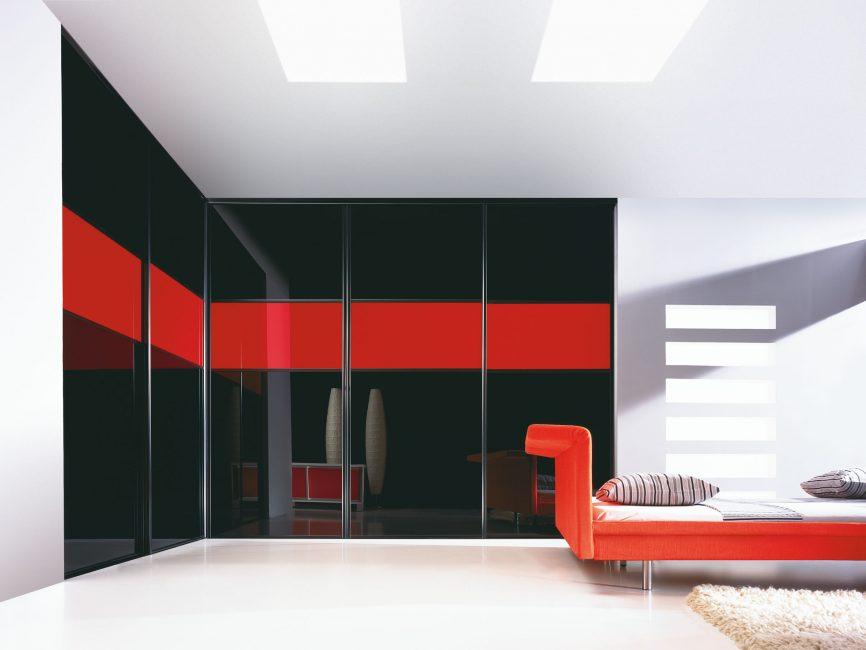 Красный цвет для смелого интерьера