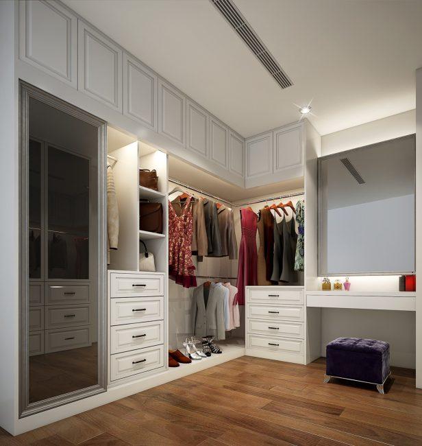 Оригинальный встроенный шкаф