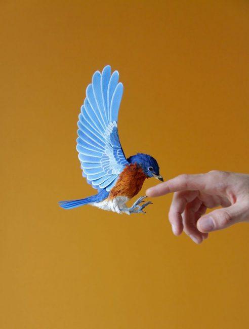 Восхитительные птички своими руками