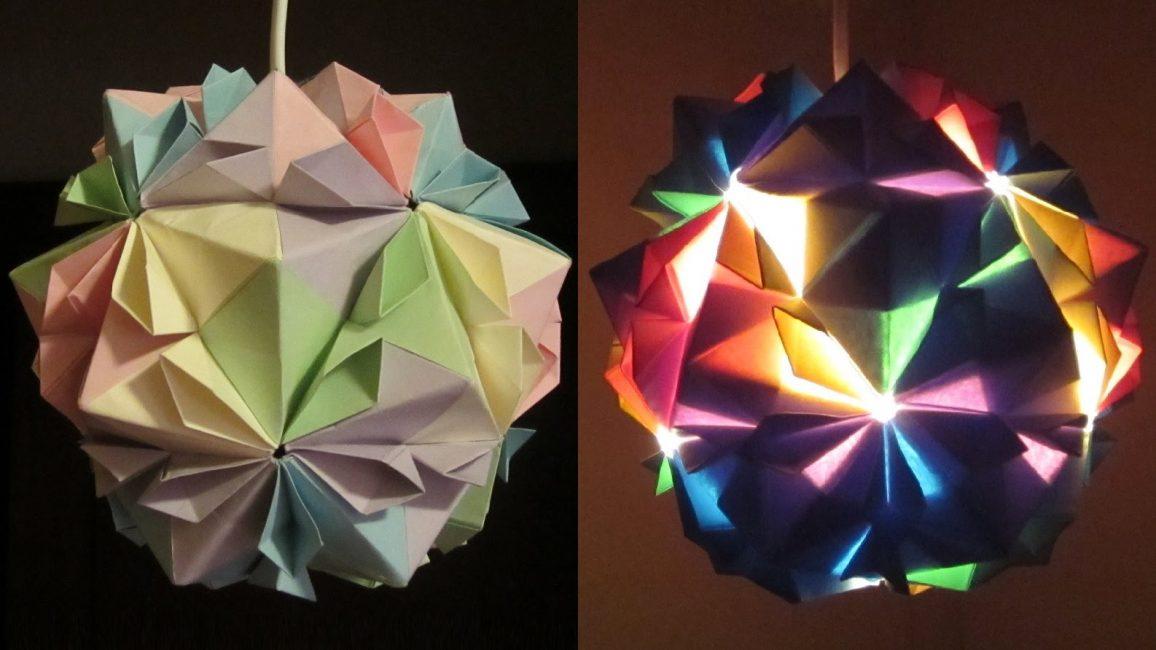 Оригинальный шар-светильник