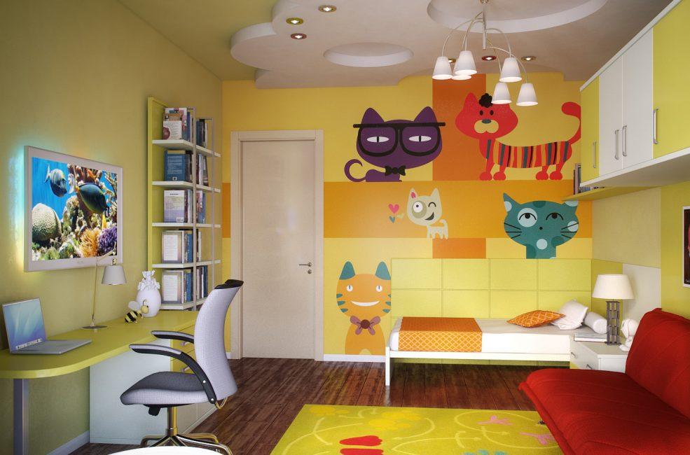 Солнечная комната для концентрации внимания