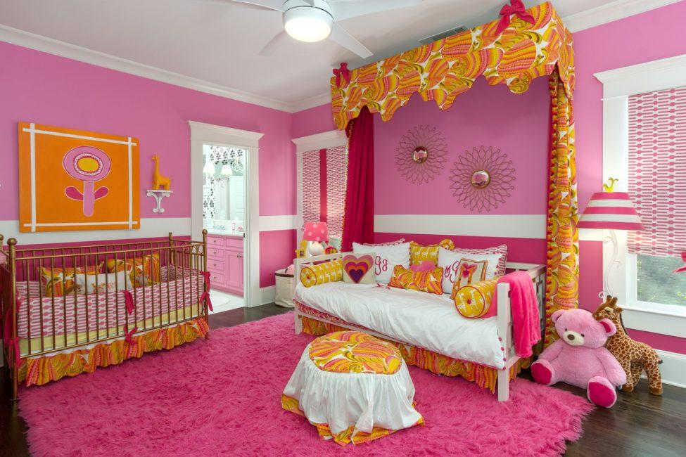 Настоящая комната для принцесс
