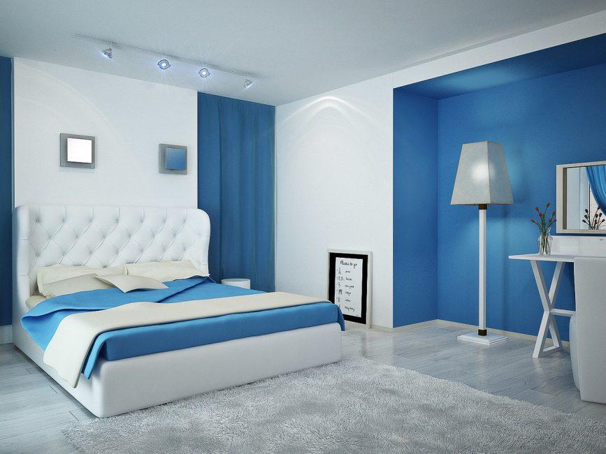 Уютная спальня без декора