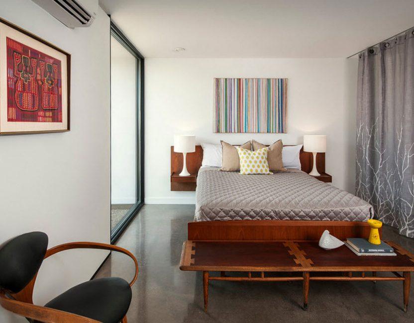 Модерн для уютной спальни