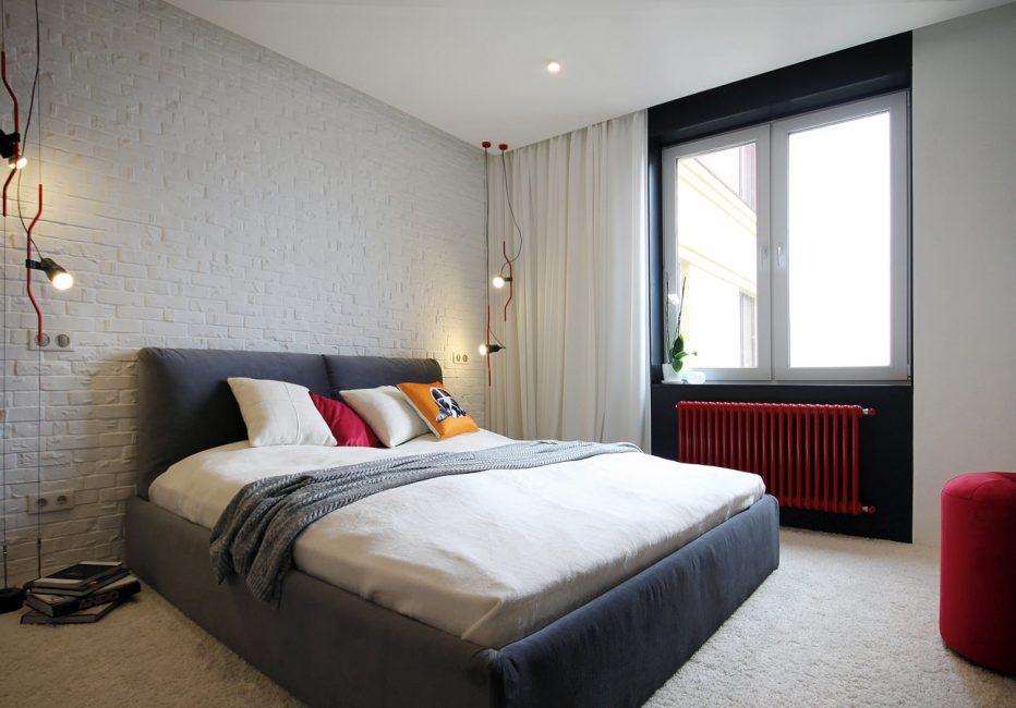 Лампы накаливания для скандинавского стиля спальни