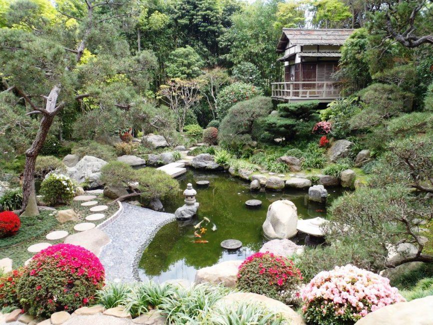 Ландшафтный дизайн в стиле Япония