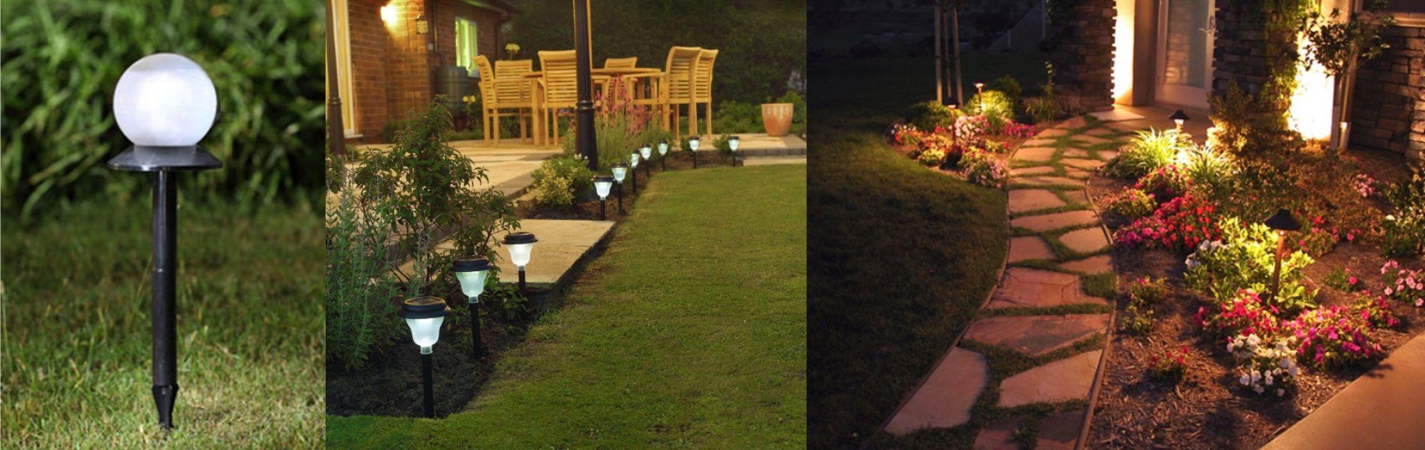 Выберите светильник под стилистику сада