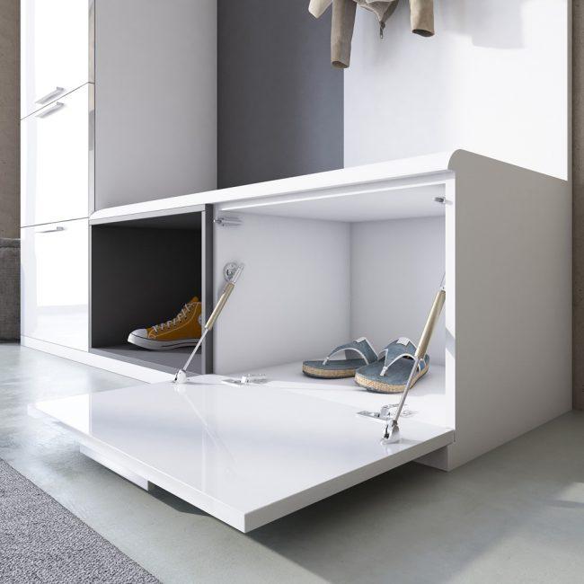 Организация обуви необходима в маленьком помещении