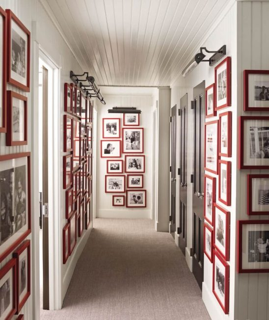 Галерея с фотографиями выглядит великолепно