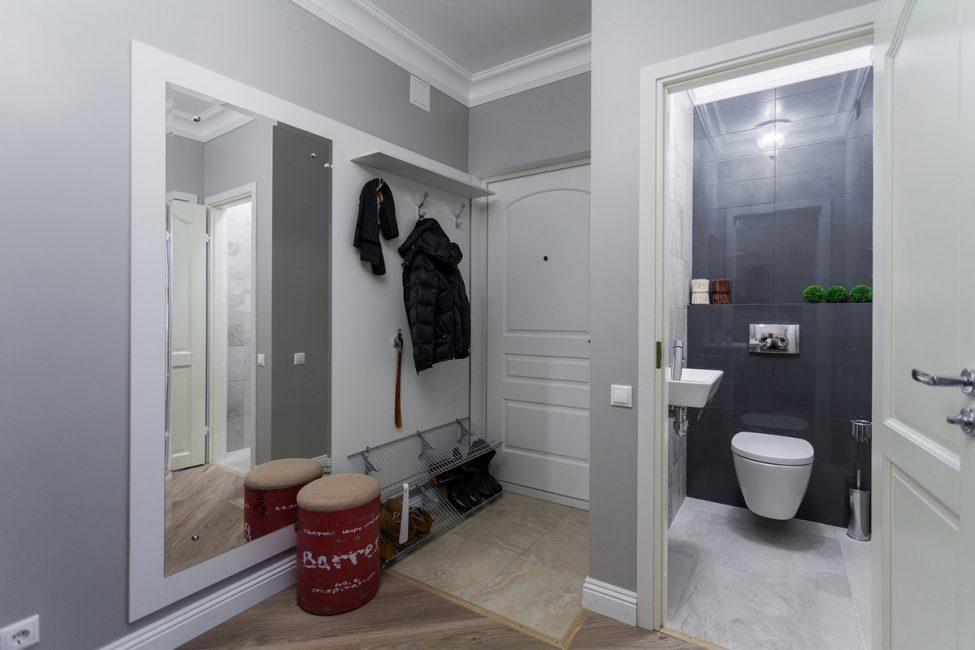 Интерьер с окрашенными стенами легко и дешево обновить