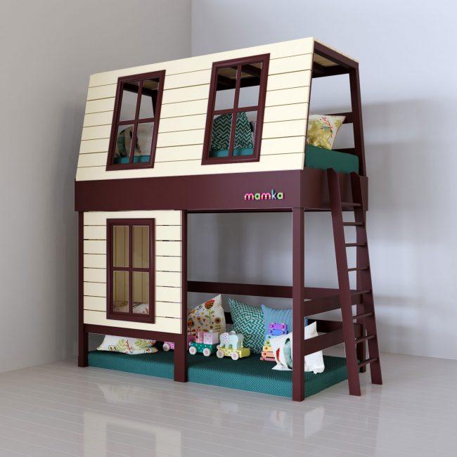 Для детей придуманы разные модели в виде домиков