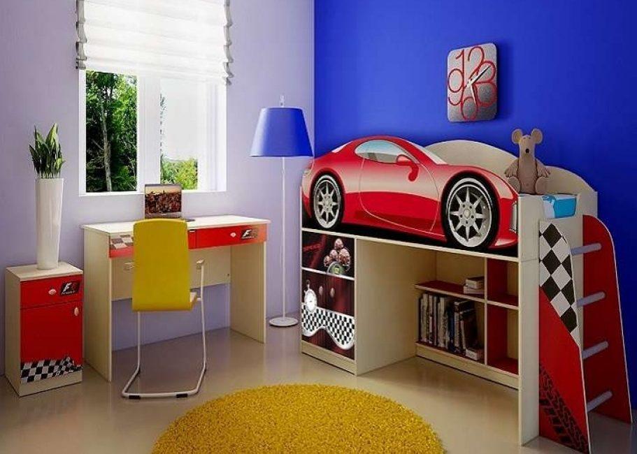 Популярные модели для мальчиков в виде машин