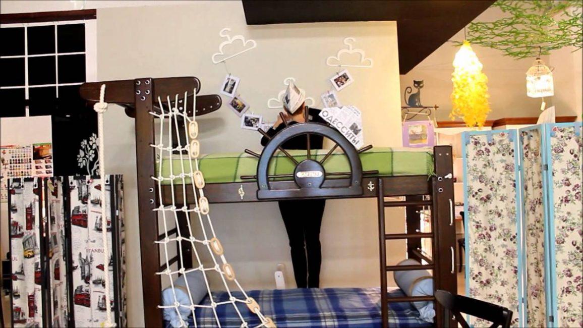 Приобретите кровать для малыша, которая ему будет забавной игрой