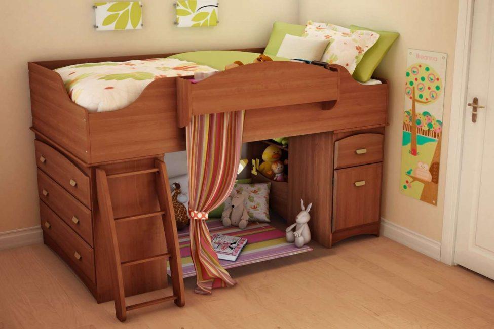 Главное, чтобы кровать органично вписывалась в общий стиль