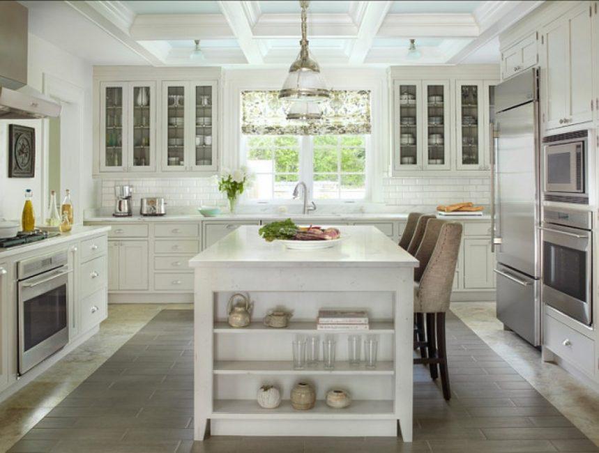 Расположение кухонной техники должно быть максимально удобным