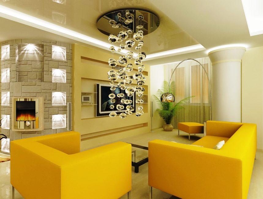 Красивый внешний вид под стиль комнаты