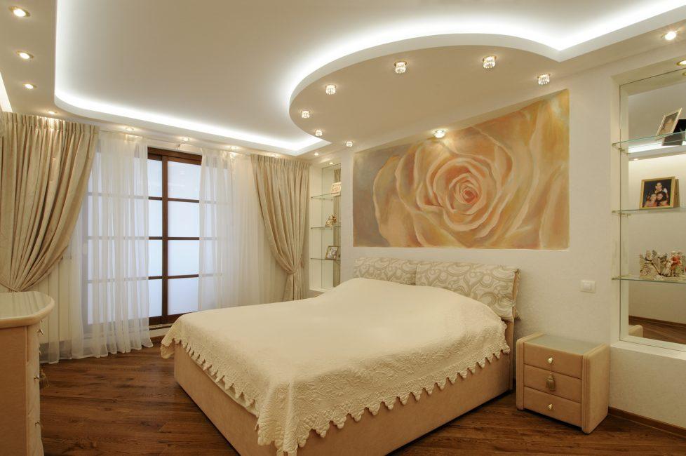 Точечное освещение для низкого потолка