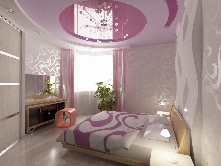 Гармоничное сочетании всех элементов в спальне