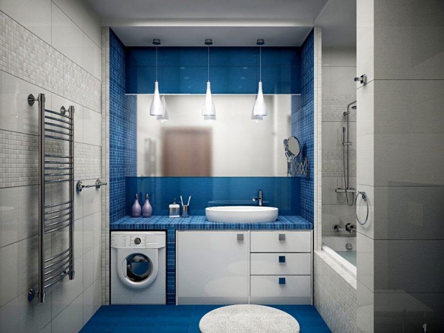 Элегантные белые плафоны в ванной