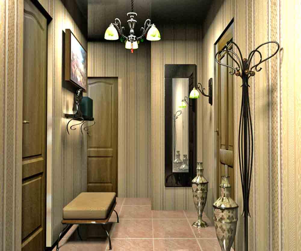 100 лучших идей дизайна стен в прихожей и коридоре на фото 5