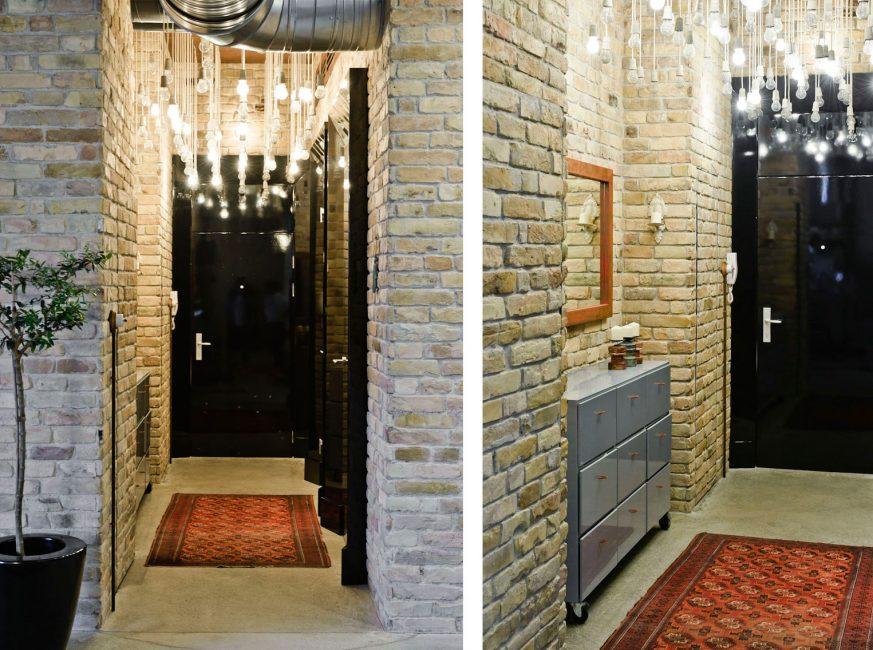 Буйство света в вашей квартире в стиле лофт