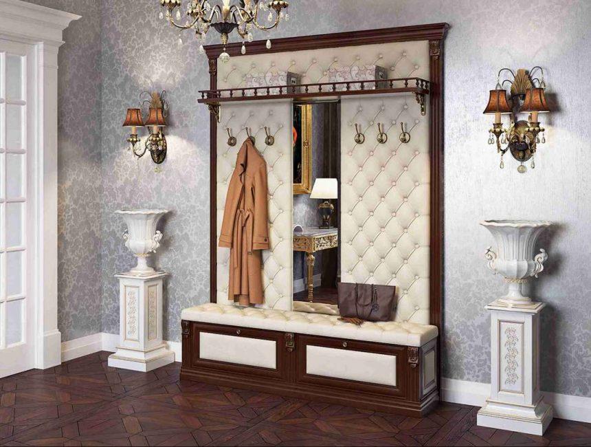 Вешалка-панель - для классического стиля