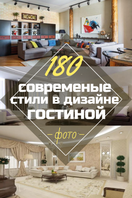 Основные Современные стили в дизайне Гостиной