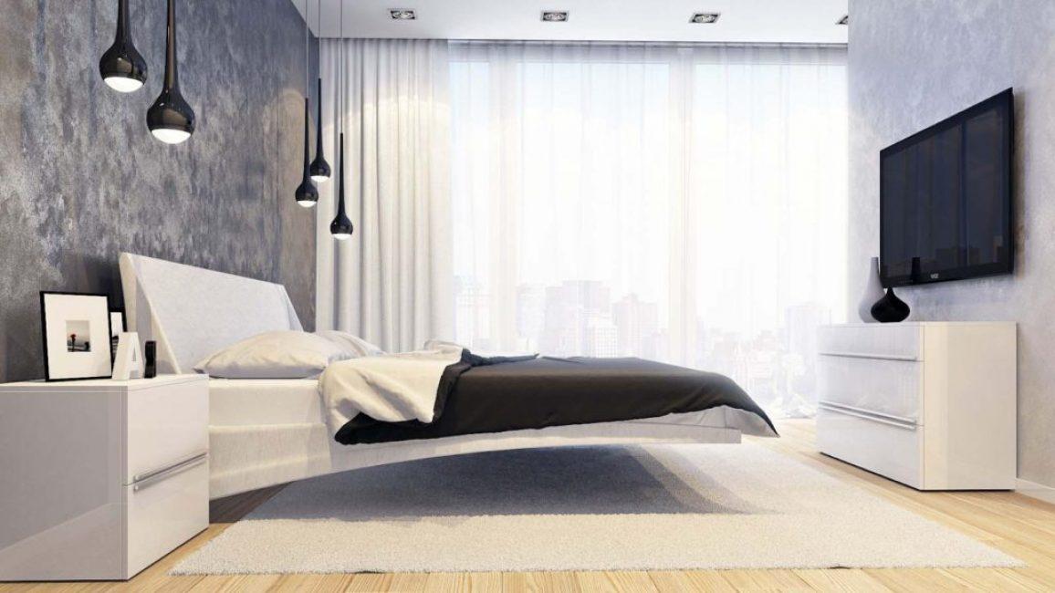 Стиль минимализм для спальни