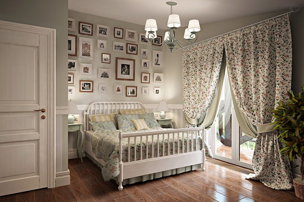 Красивая спальня прованс
