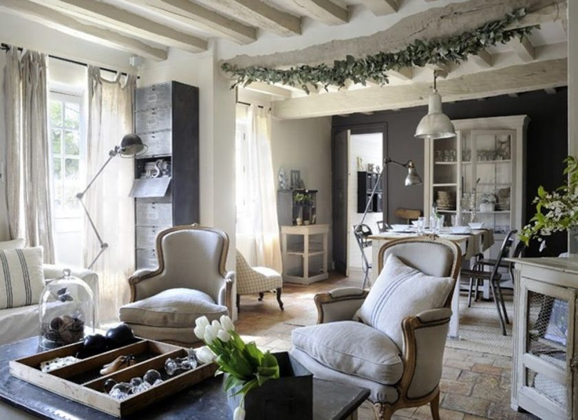 Стиль прованс в интерьере дизайн в духе французской провинции