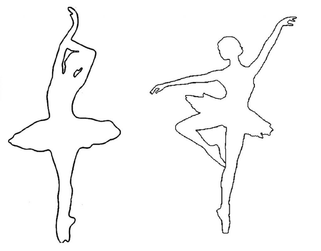 Поделки балерина снежинка 44