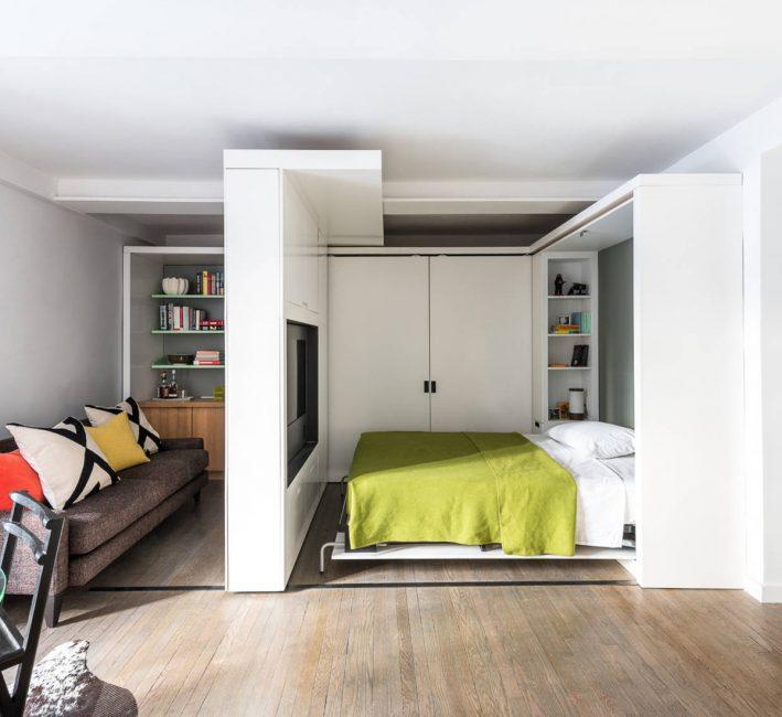 Не перегружайте интерьер комнаты