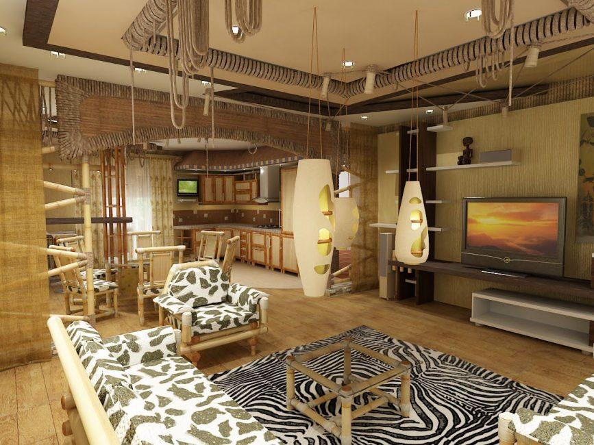 Мебель выполняется из массива древесины